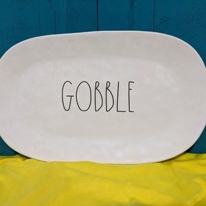 Gobble - Rae Dunn - Serving Plate - 0063